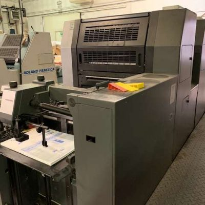 heidelberg sm52-5 offset press