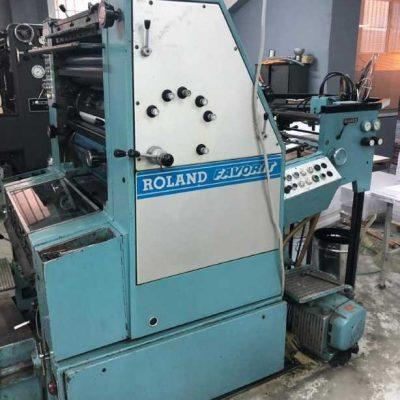 man roland favorit rfob offset machine